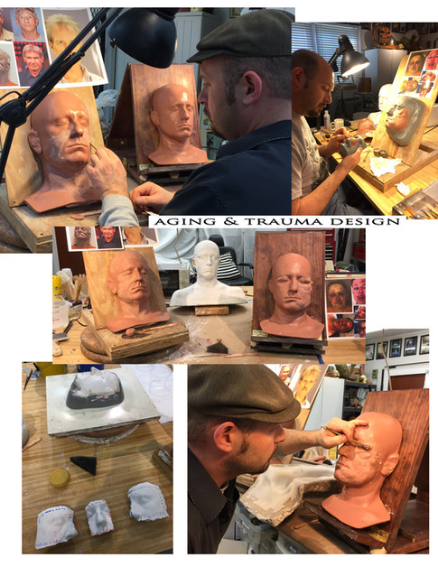 Actor Ben Foster's GALVESTON design & sculpture (2017)