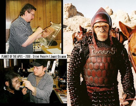 PLANET OF THE APES (2001) Ape Makeup by Stephen Prouty and Jamie Kelman for Rick Baker