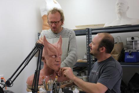 Michael McCracken Jr. working with Jamie Kelman at KELMAN STUDIO (2013)