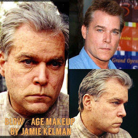 BLOW (2000) Aging makeup on Ray Liotta by Jamie Kelman