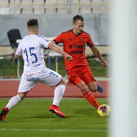 «Урал» обыграл польский «Ракув» в контрольном матче
