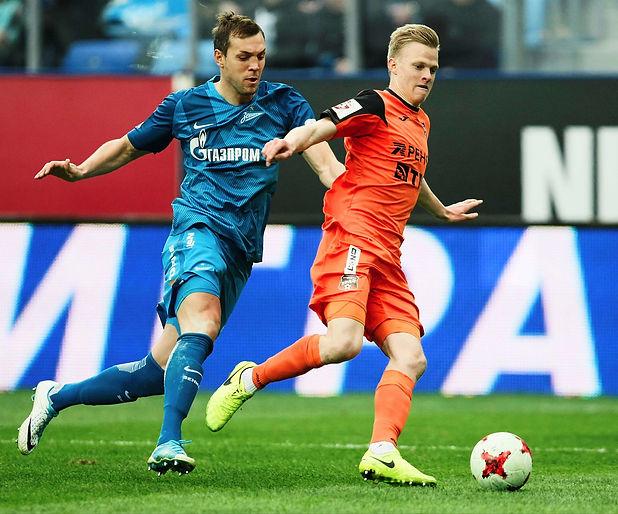 FC+Zenit+Saint+Petersburg+vs+FC+Ural+Eka