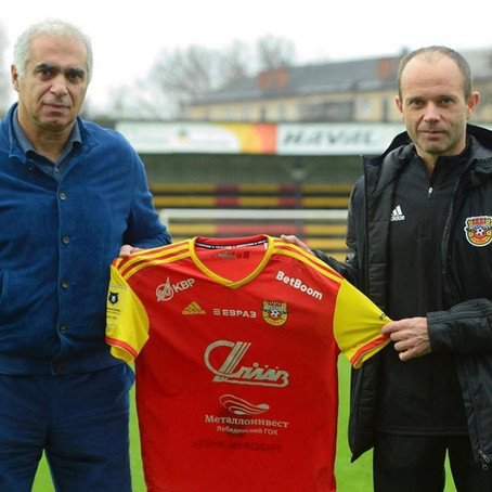 Dmitri Parfenov | New head coach FC Arsenal Tula | Russian Premier League