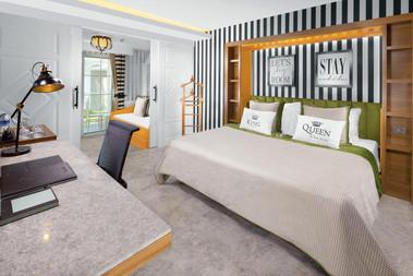 Selectum Luxury Resort room double bed.j