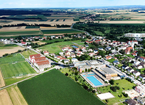 Terme Vivat hotel aerial