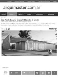 Concejo Deliberantes de Lincoln - 2º Premio