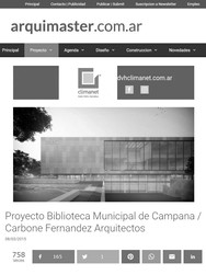 Biblioteca Municipal Campana - Premio Mencion
