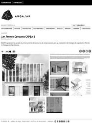Nueva Sede Colegio Arquitectos San Nicolas - 1º Premio