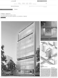 Nueva Sede Colegio Arquitectos La Plata - 3º Premio