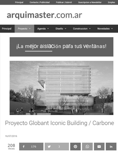 Globant Iconic Building - Premio Mencion
