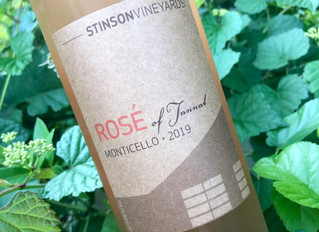 Tannat works for Virginia, and more importantly, Tannat works for rose at Stinson Vineyards