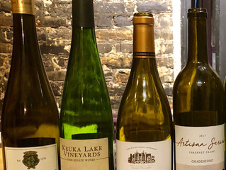A night of East Coast wines, part 1
