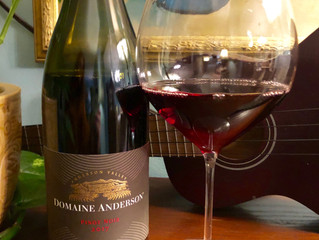 Domaine Anderson Estate Pinot Noir & the best slow cooker chicken