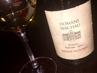 Wine of last week: Domäne Wachau 2016 Federspiel Terrassen Gruner Veltliner