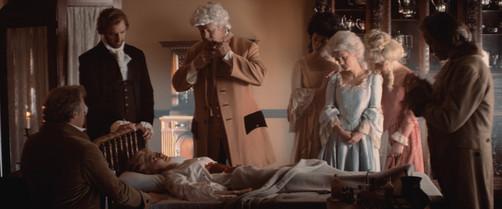 Int. Hamilton's Deathbed (c.1804)