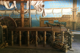Ext. Sadie's Pirate Ship (c. 1870)
