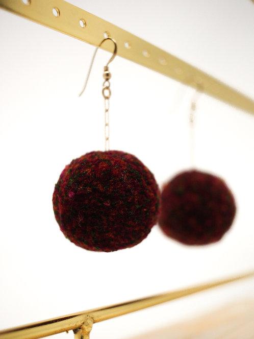 Fall Cherry Earrings