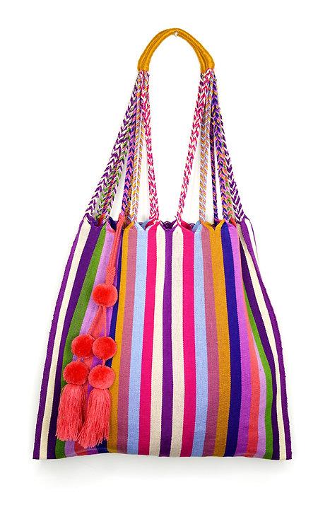 Berries Tote Bag & Red Pompon