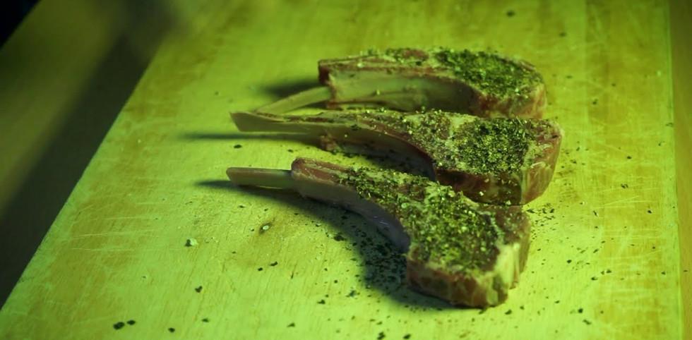 香煎法式羊架