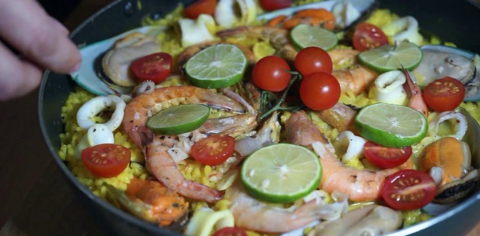 意大利海鮮燴飯