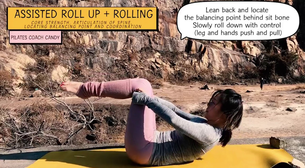 Assisted Roll Up + Rolling