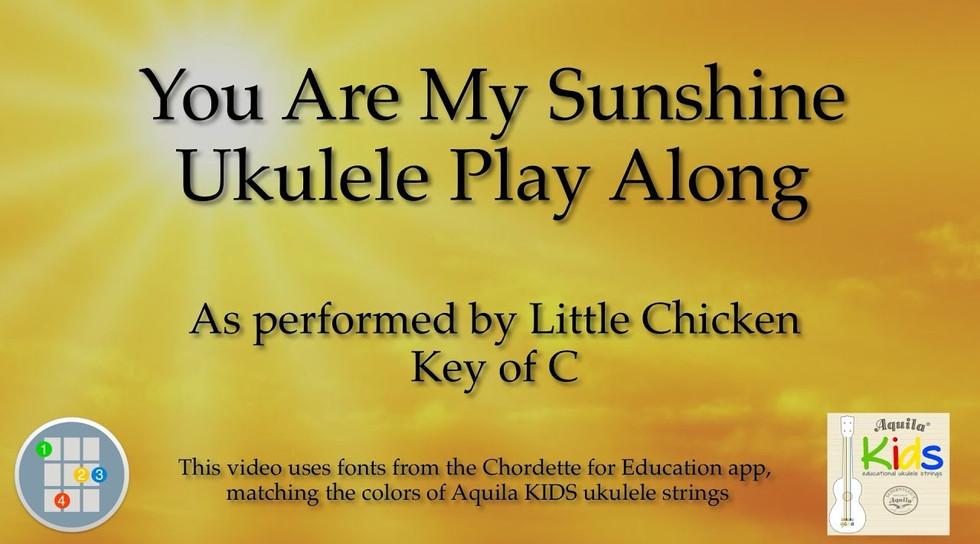 FRE3minutes Channel 12 3-min Ukulele for Beginners