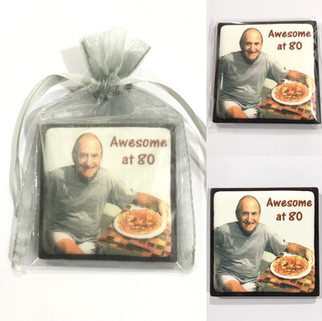 Chocolate Square Party Favor - Awesome a