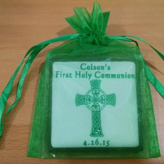 Chocolate Square PF in Green Bag- Colson