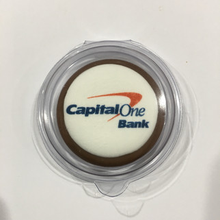 Chocolate Coin with Edible Image - Capit