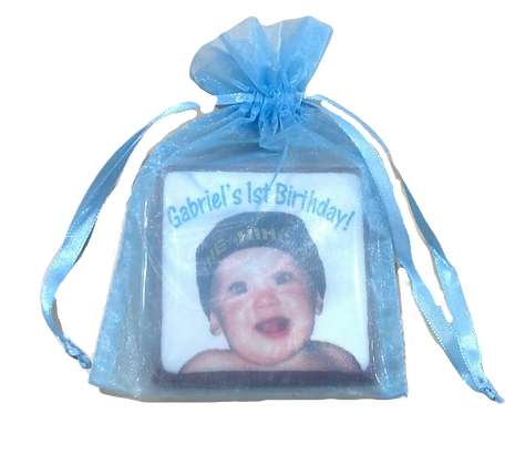 Square Party Favor in Gift Bag