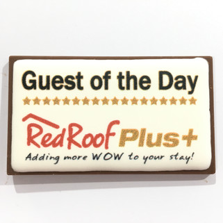 Chocolate BC with Edible Image - Red Roo