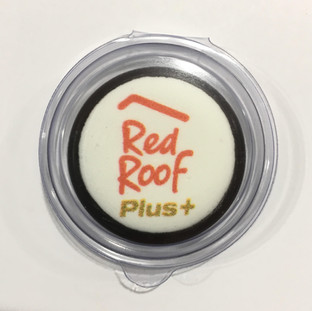 Chocolate Coin with Edible Image - Red R
