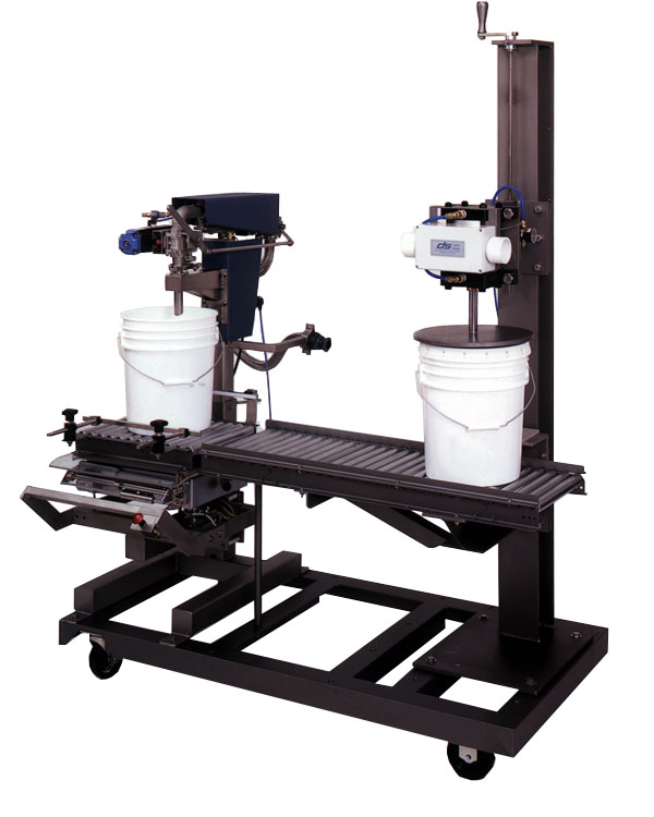 51-T with Lid Press & Portable Cart