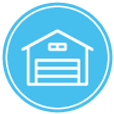Hot tub storage icon