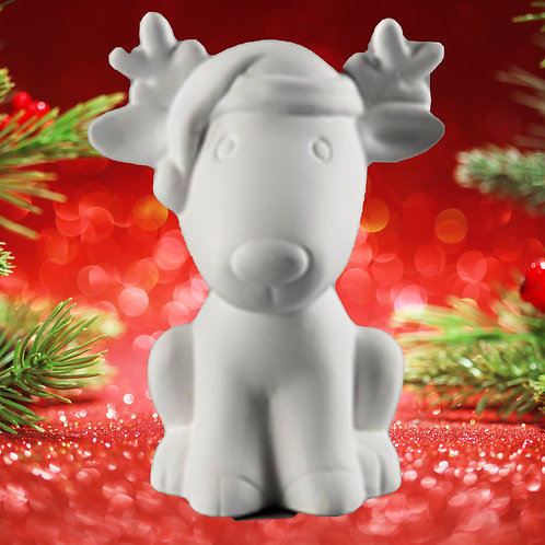 3D Rudolph The Red Nosed Reindeer
