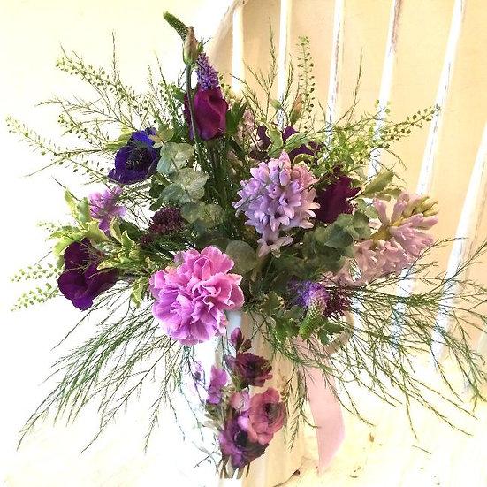 Bespoke Arrangement - Pinks & Purples