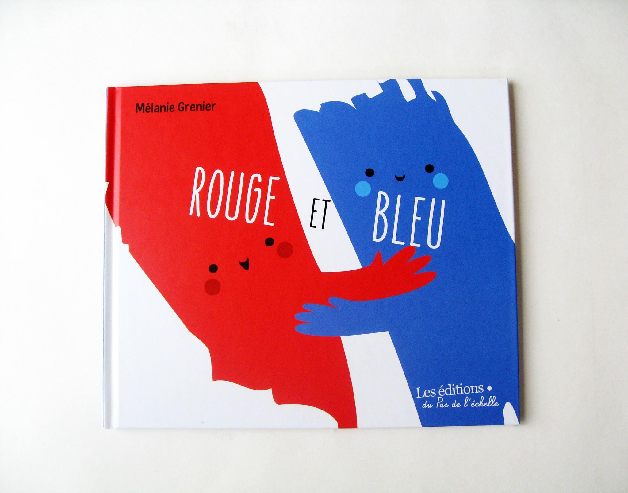 Rouge & Bleu auteure Mélanie Grenier