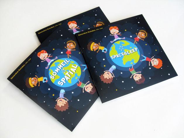 Mise en page d'un livre jeunesse