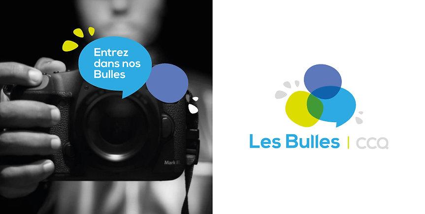 Logo bulles Culture Centre-du-Québec MélanieGrenierGraphiste