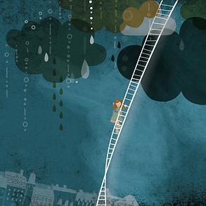 Livre La pluie tombe Mélanie Grenier