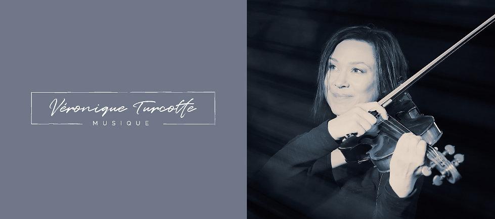 Véronique Turcotte musique violon logo