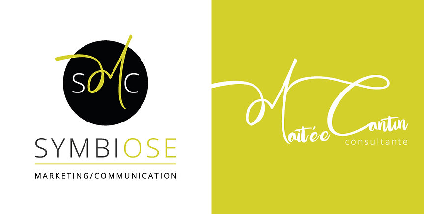 Logo Symbiose Marketing communication Maitée Cantin