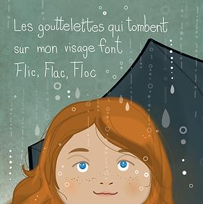 La pluie tombe Mélanie Grenier