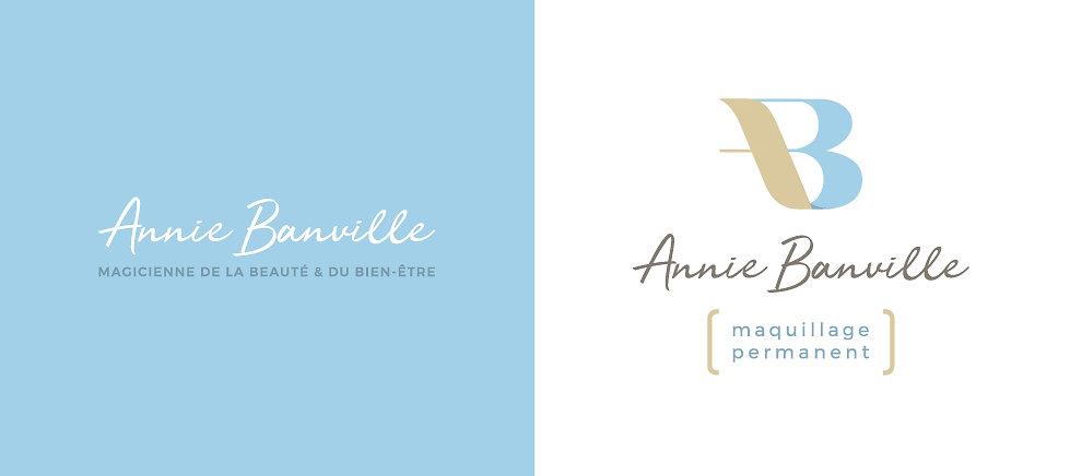 Annie Banville maquillage permanent Saint-Majorique Logo
