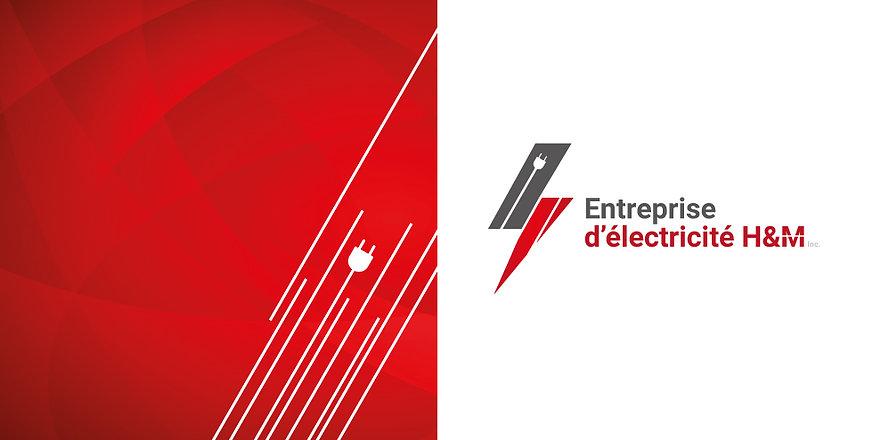 Entreprise d'électricité H&M logo