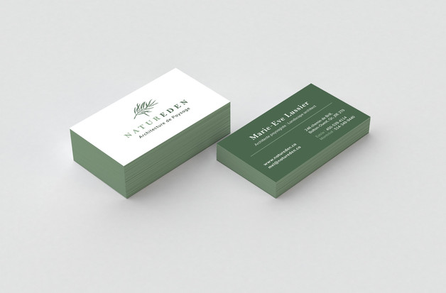 Carte d'affaire