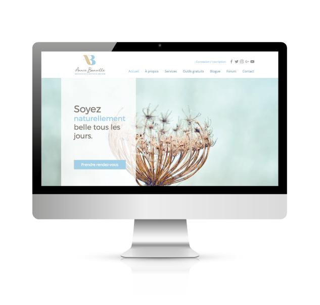 Annie Banville Site Web