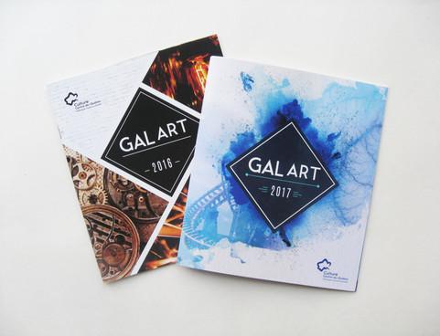 Brochure GalArt 2016 et 2017