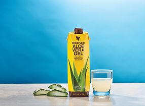 boisson aloe vera gel