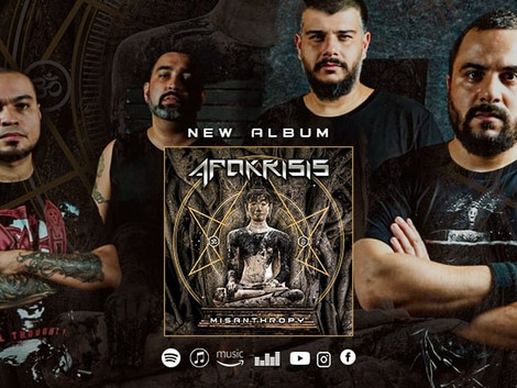 Apokrisis lança o tão aguardado álbum de estreia 'Misanthropy'
